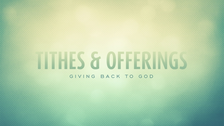 Offering-Tithe