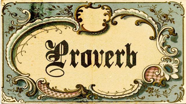 Proverb_Main